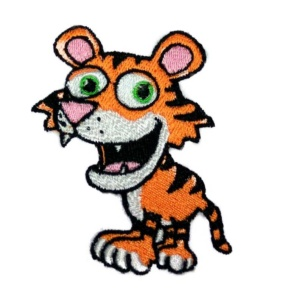 tygrik výšivka